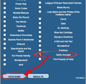 Voting page