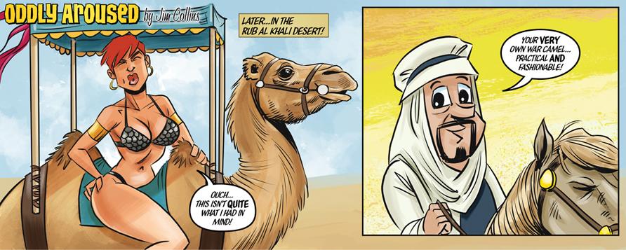 Camel Butt